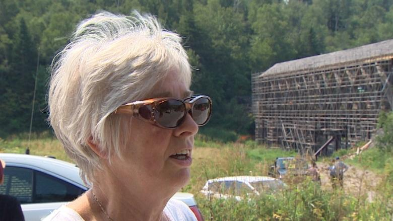 Protesters want to stop demolition of Hammond River covered bridge
