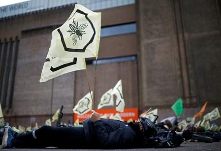 FILE PHOTO: Extinction Rebellion protest in London