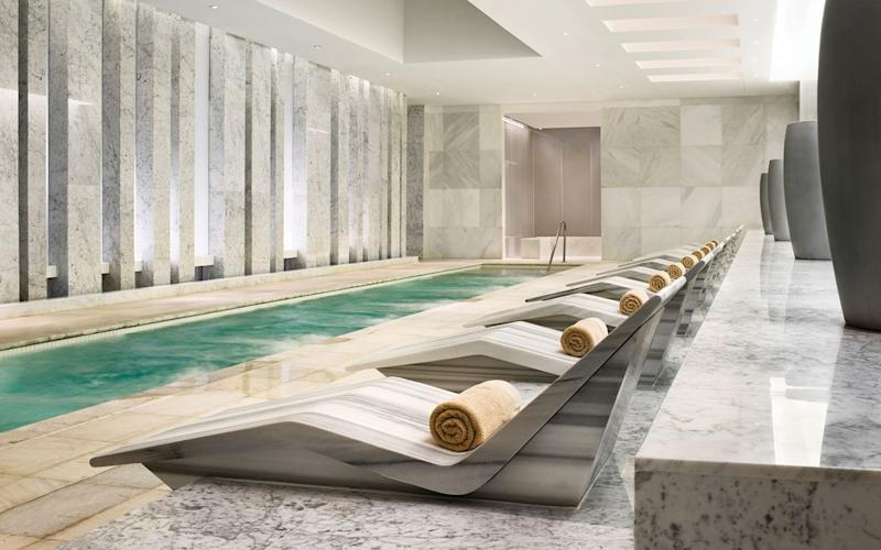 The indulgent and luxurious Lapis Spa at the Fontainebleau is one of the best in the city