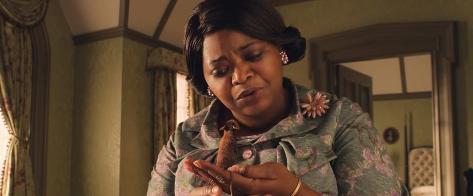 "This image released by Warner Bros. Entertainment shows Octavia Spencer in a scene from ""The Witches."" (Warner Bros. Entertainment via AP)"