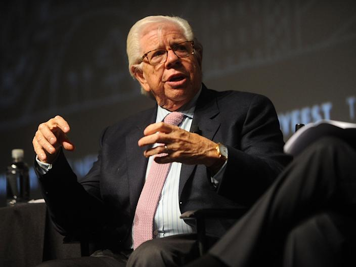 Carl Bernstein attends the 2017 New Yorker Festival - All The President's Reporters at SVA Theatre on 6 October 2017 in New York City ((Getty Images for The New Yorker))