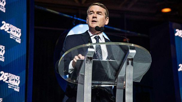 PHOTO: Democratic presidential candidate, Sen. Michael Bennet, speaks at the 2019 Essence Festival in New Orleans, July 6, 2019. (Amy Harris/Invision/AP)