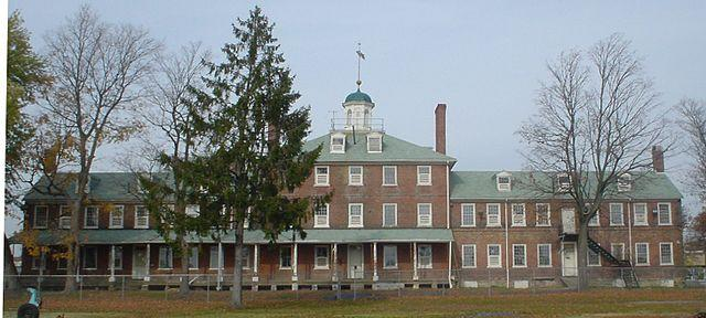 The Philadelphia Lazaretto was the first quarantine facility built in the United States.  Image credit: Kiriakos Gogopoulos / CC BY (https://creativecommons.org/licenses/by/3.0)