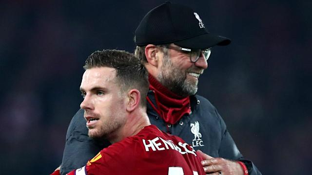 Jurgen Klopp was excited about the form of Jordan Henderson after Thursday's win over Sheffield United.