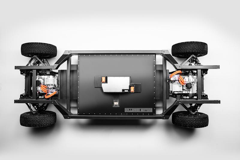 Bollinger Motors Patent-Pending E Chassis Top