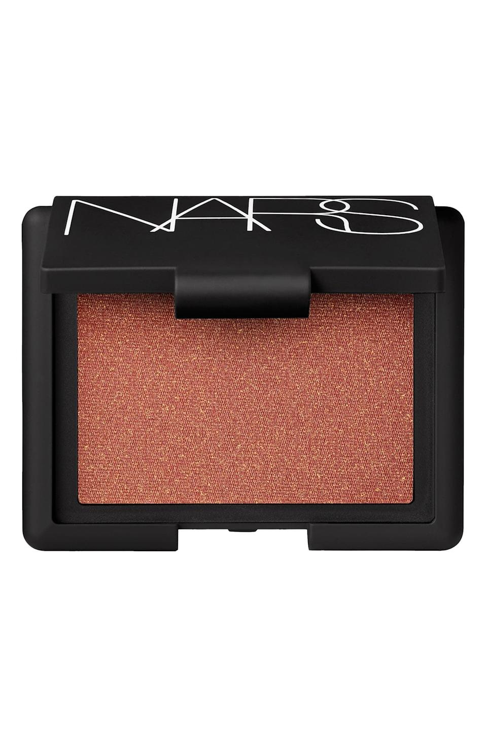 <p>You can't go wrong with a classic <span>Nars Blush</span> ($26, originally $30).</p>