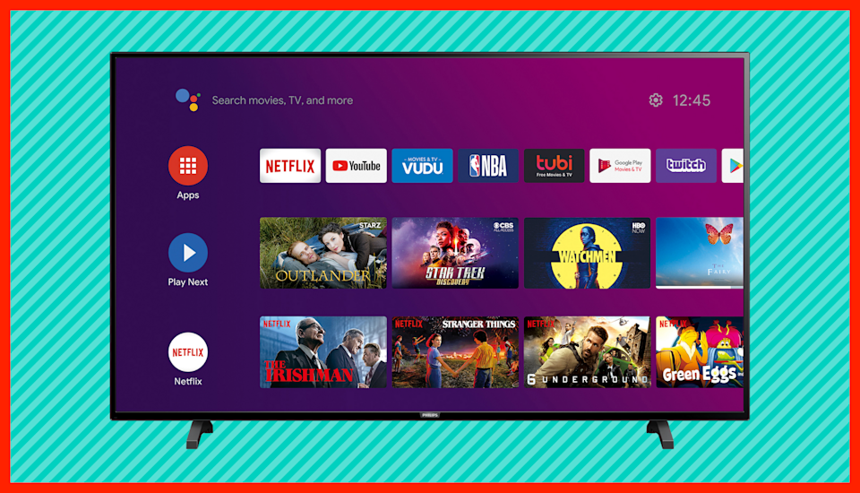 Save $100 on this Philips 65-inch Class 4K Ultra HD Android Smart LED TV. (Photo: Walmart)