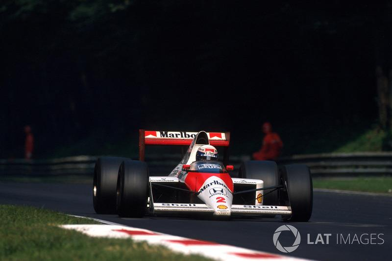 "Alain Prost - McLaren MP4 / 5-Honda - GP de Italia 1989<span class=""copyright"">Sutton Motorsport Images</span>"