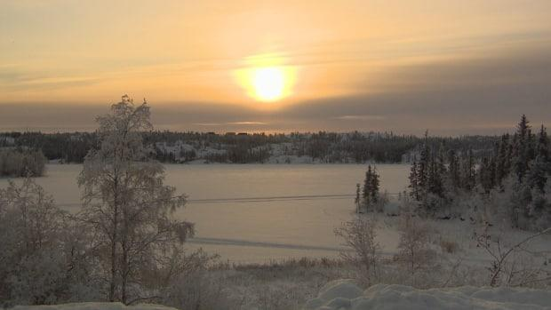 The Northwest Territories Power Corporation confirmed a worker died following an accident at the power plant at Jackfish Lake in Yellowknife.  (Andrew Pacey/CBC - image credit)