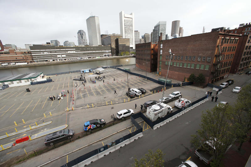 Rising seas and raising questions in booming Boston district