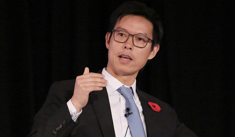 David Liao, HSBC's former head of global banking in Asia-Pacific. Photo: Bloomberg