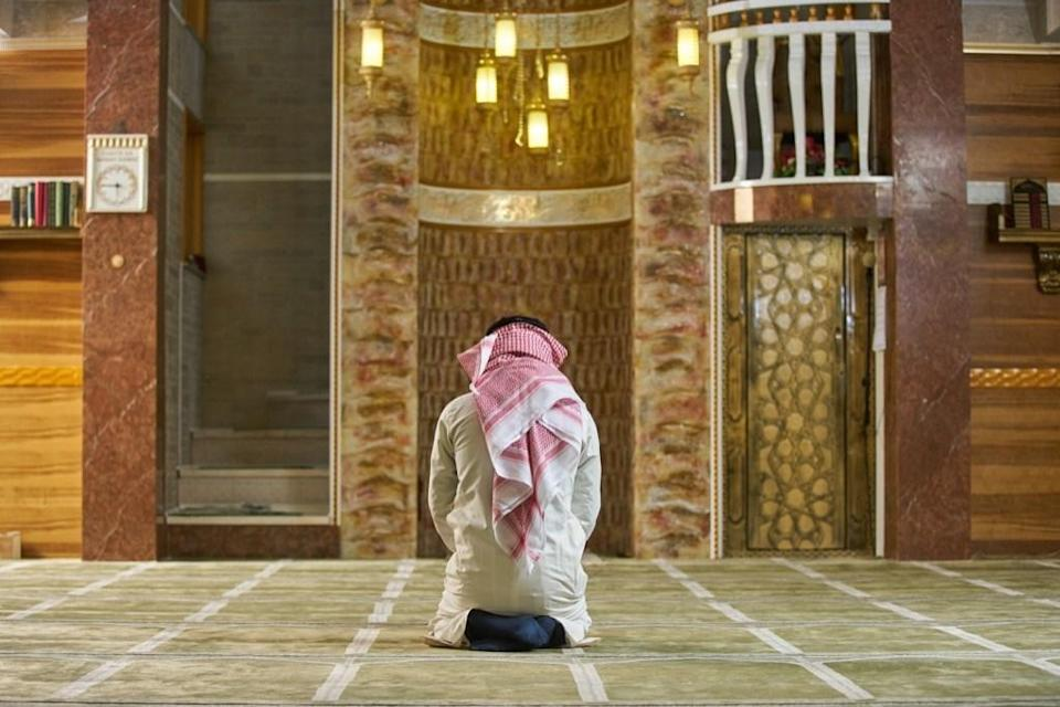 """Ramadan is all about reflection. Throughout the month, you are meant to contemplate your relationship with God and ponder what kind of person you want to be. The holy month is also about <a href=""""https://bestlifeonline.com/gratitude/?utm_source=yahoo-news&utm_medium=feed&utm_campaign=yahoo-feed"""" rel=""""nofollow noopener"""" target=""""_blank"""" data-ylk=""""slk:practicing gratitude"""" class=""""link rapid-noclick-resp"""">practicing gratitude</a>. By refraining from eating and drinking for a prolonged period of time, the goal is to put yourself in the shoes of those less fortunate who may feel those pangs of hunger on a daily basis, even when it's not Ramadan. By experiencing this firsthand, you might just find yourself more compassionate, more empathetic, and even more giving."""