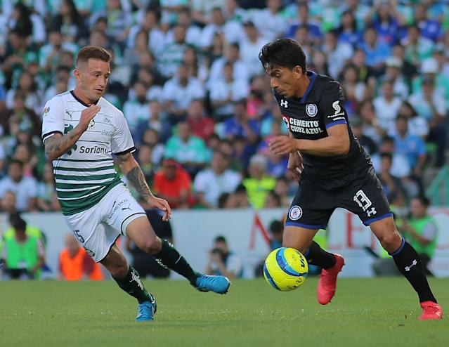 Cruz Azul vs Santos Liga MX