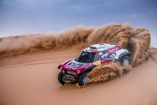 "Buggy X-Raid Mini JCW <span class=""copyright"">Red Bull Content Pool</span>"