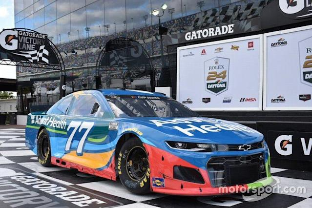 """Ross Chastain, Spire Motorsports Chevrolet <span class=""""copyright"""">Chip Ganassi Racing</span>"""