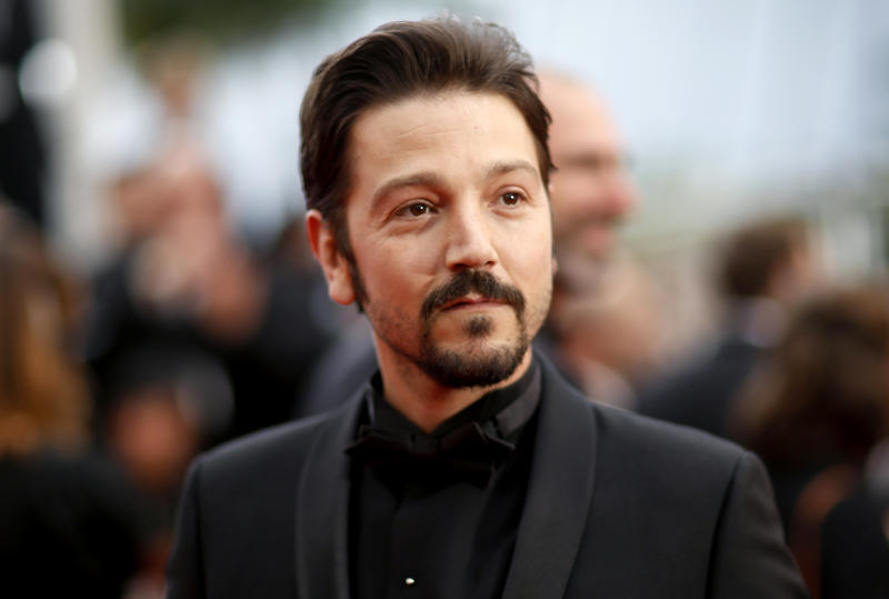 "72nd Cannes Film Festival - Screening of the film ""La Belle Epoque"" Out of competition - Red Carpet Arrivals - Cannes, France, May 20, 2019. Diego Luna poses. REUTERS/Stephane Mahe"