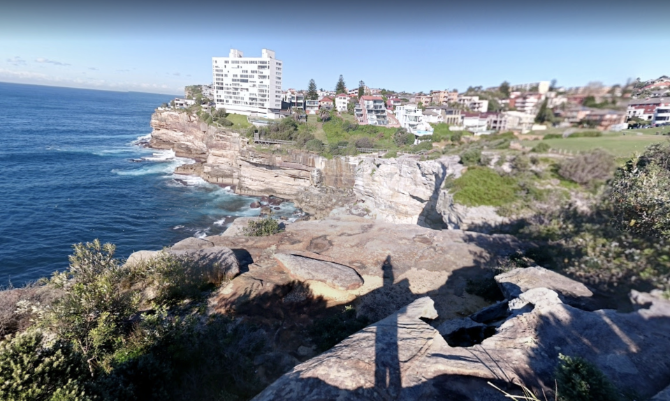Diamond Bay Reserve in Sydney is pictured.