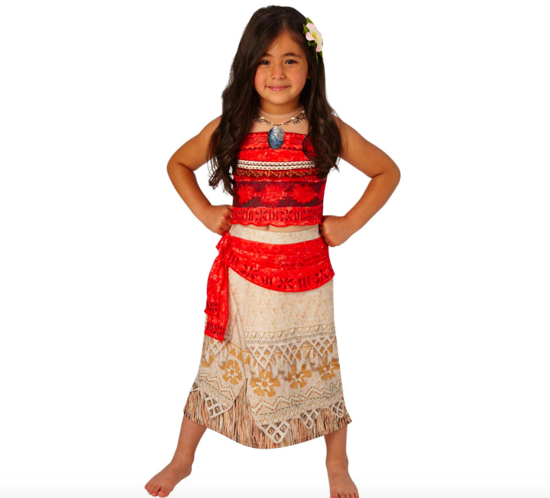 Some parents claim wearing a Moana costume is 'cultural appropriation' [Photo: Very.co.uk]