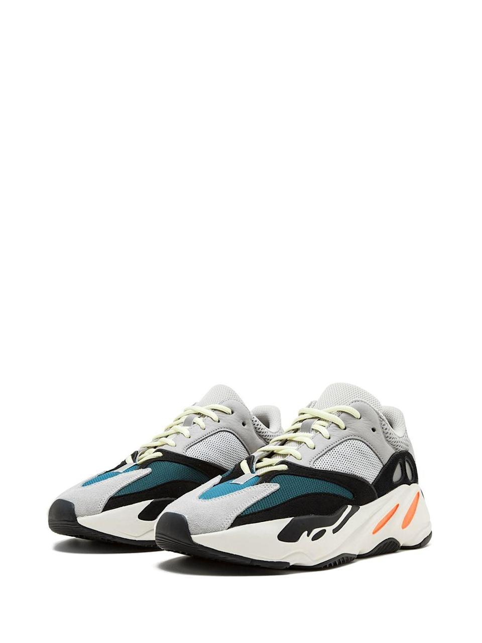 <p>We're sure you're not surprised that Yeezy made this list. Sneaks like the <span>Yeezy Boost 700 Wave Runners</span> ($600) sell for up to a whopping 543 percent of retail price!</p>