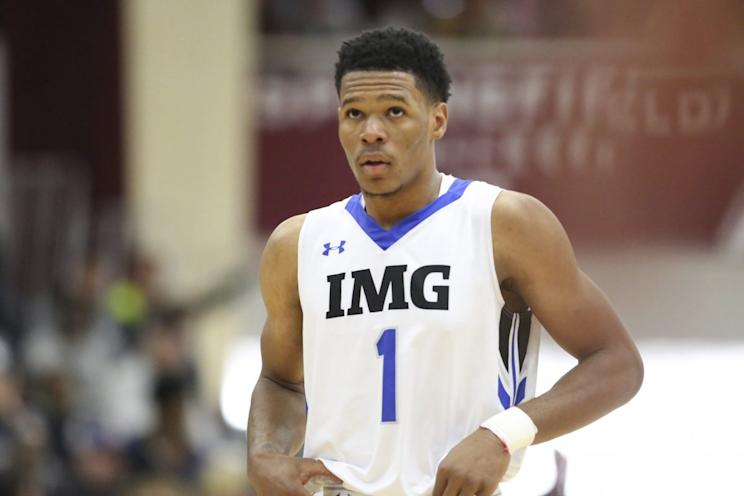 Trevon Duval, the No. 1 point guard in the 2017 class, committed to Duke on Monday. (AP)