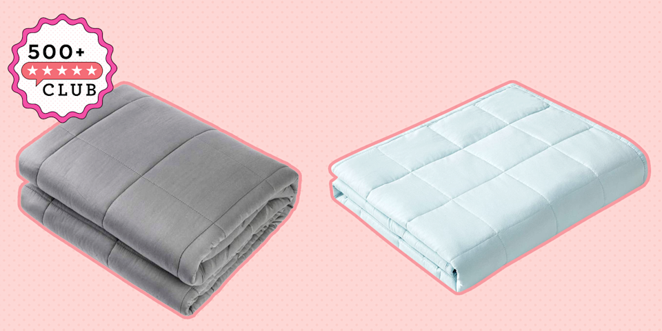 People Can't Stop Talking About This Weighted Blanket From ...