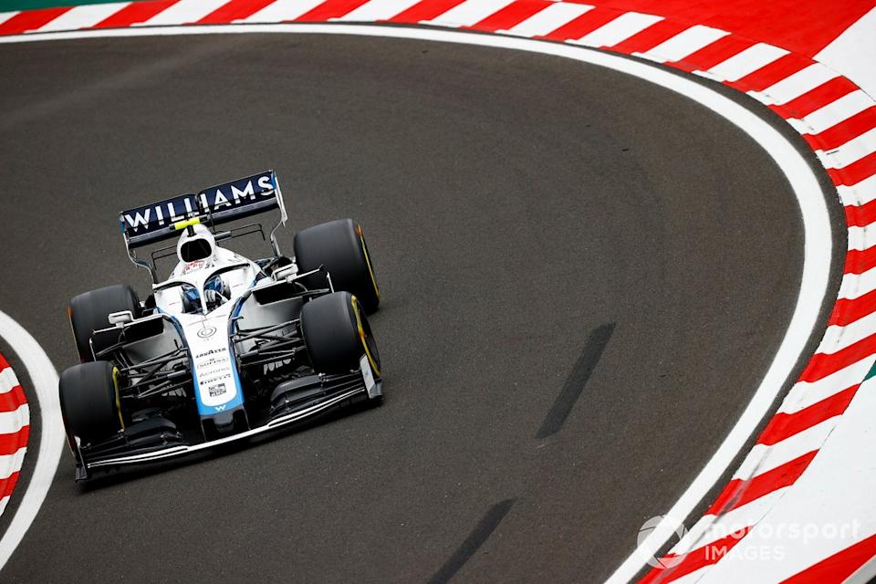 "Nicholas Latifi, Williams FW43 <span class=""copyright"">Andy Hone / Motorsport Images</span>"