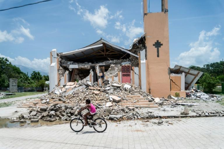 The 7.2 magnitude earthquake destroyed or damaged over 130,000 homes