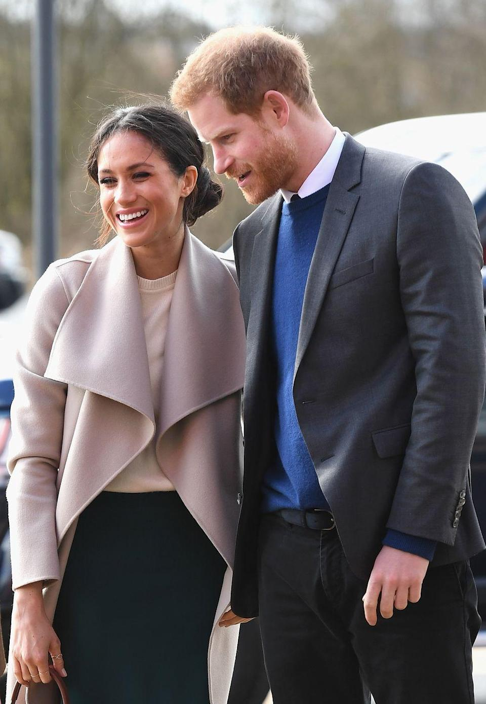 "<p><a href=""https://www.townandcountrymag.com/society/tradition/g19570257/prince-harry-meghan-markle-surprise-belfast-visit/"" rel=""nofollow noopener"" target=""_blank"" data-ylk=""slk:See all the photos from their appearance here."" class=""link rapid-noclick-resp"">See all the photos from their appearance here.</a></p>"