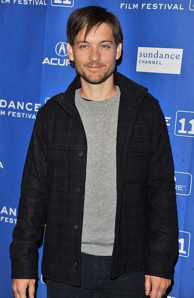 """Tobey Maguire turns 36 George Pimentel/<a href=""""http://www.gettyimages.com/"""" target=""""new"""">GettyImages.com</a> - January 24, 2011"""