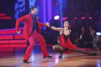 <p>The World Cup soccer star did very well on <em>DWTS</em>. She earned fourth place! The crazy thing is...she got beat out by Rob Kardashian. Yes, you read that correctly. </p>