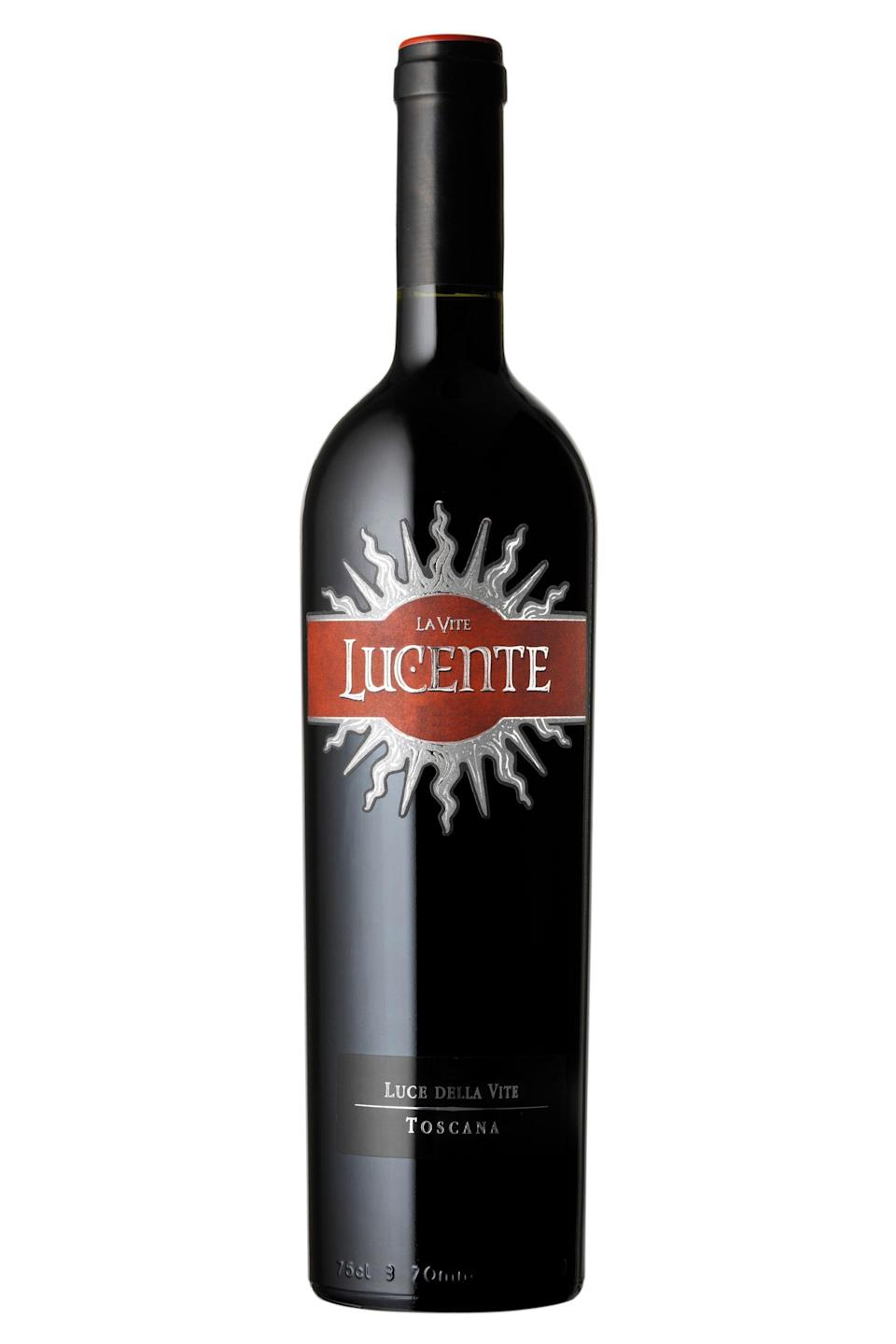 """<p>wine.com</p><p><strong>$23.99</strong></p><p><a href=""""https://go.redirectingat.com?id=74968X1596630&url=https%3A%2F%2Fwww.wine.com%2Fproduct%2Ftenuta-luce-lucente-2017%2F530608&sref=https%3A%2F%2Fwww.redbookmag.com%2Ffood-recipes%2Fg35180620%2Fbest-valentines-day-wine%2F"""" rel=""""nofollow noopener"""" target=""""_blank"""" data-ylk=""""slk:Shop Now"""" class=""""link rapid-noclick-resp"""">Shop Now</a></p><p>""""A blend of the classic Tuscan grape Sangiovese with Merlot, this wine is Italian <em>amore</em> in a glass—lusty with red berry, savory spice and red licorice notes,"""" <a href=""""https://andreawine.com/"""" rel=""""nofollow noopener"""" target=""""_blank"""" data-ylk=""""slk:Master Sommelier Andrea Robinson"""" class=""""link rapid-noclick-resp"""">Master Sommelier Andrea Robinson</a> says.</p>"""