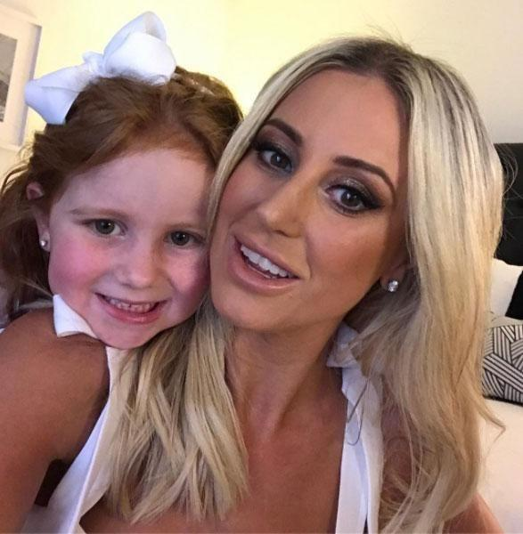 Roxy and daughter Pixie. Source: Instagram