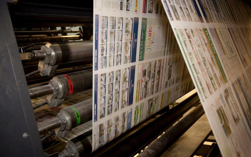 Johnston Press is struggling under heavy debts and falling print circulations - Getty Images Contributor