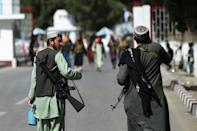 The Taliban have insisted they want to keep the civilian airport open (AFP/WAKIL KOHSAR)