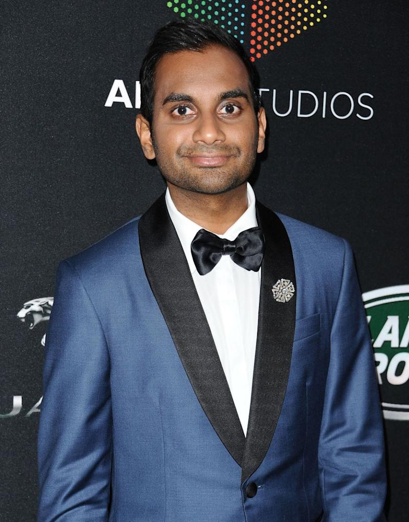Aziz Ansari, here at an event in Los Angeles last year, has responded to claims of sexual misconduct. Source: Getty