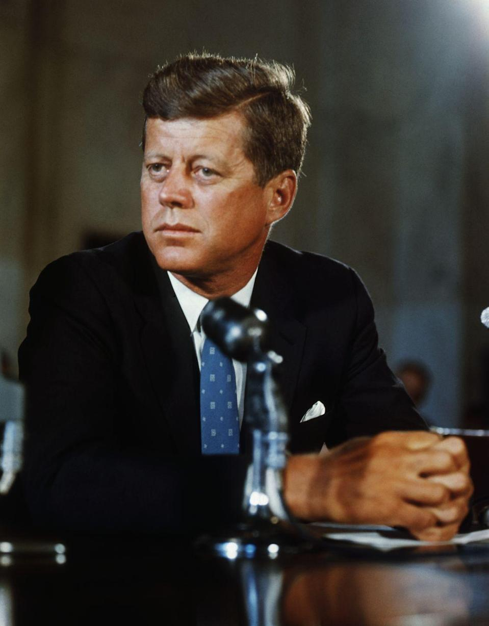 "<p>""The ignorance of one voter in a democracy impairs the security of all."" - a speech at the <a href=""https://www.jfklibrary.org/archives/other-resources/john-f-kennedy-speeches/vanderbilt-university-19630518"" rel=""nofollow noopener"" target=""_blank"" data-ylk=""slk:90th anniversary convocation of Vanderbilt University"" class=""link rapid-noclick-resp"">90th anniversary convocation of Vanderbilt University</a>, Nashville, Tennesse on May 18, 1963</p>"