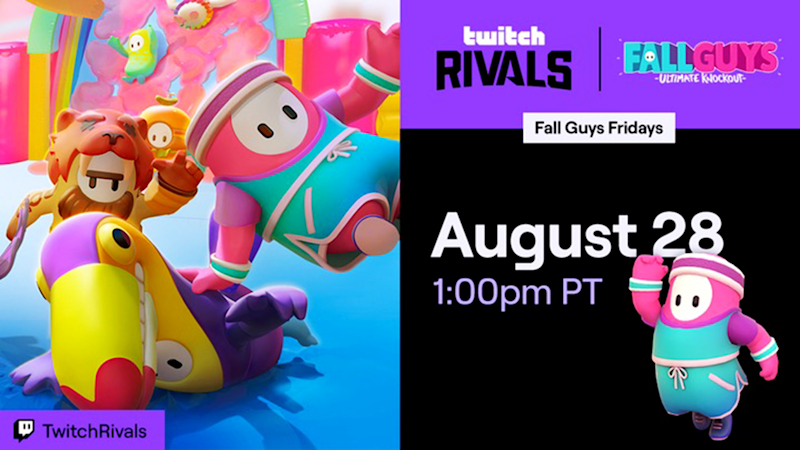 Twitch Rivals Fall Guys tournament: Leaderboard, teams, rules, how to watch & more