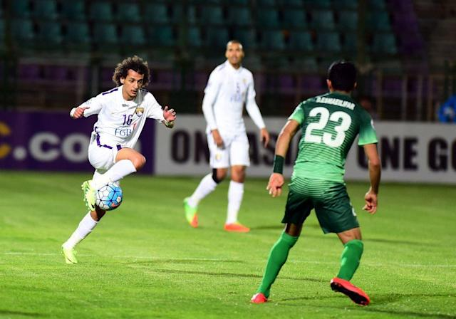 The Emirati shot-stopper was in great form on Monday.