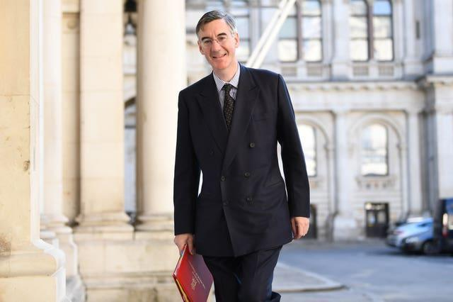 Leader of the House of Commons Jacob Rees-Mogg (Stefan Rousseau/PA)
