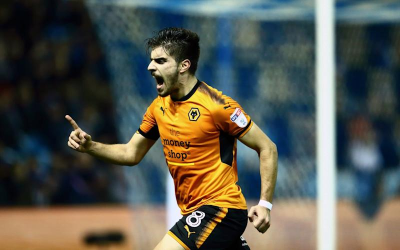 Ruben Neves scored the only goal of the game as Wolves extended their lead at the top of the Championship - Getty Images Europe