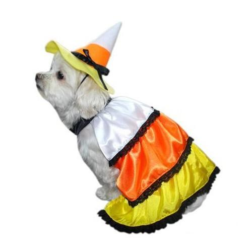 Candy Corn Dog Costume. (Photo: Walmart)