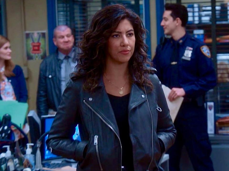 Stephanie Beatriz's own experiences influenced Rosa's coming out storyline.