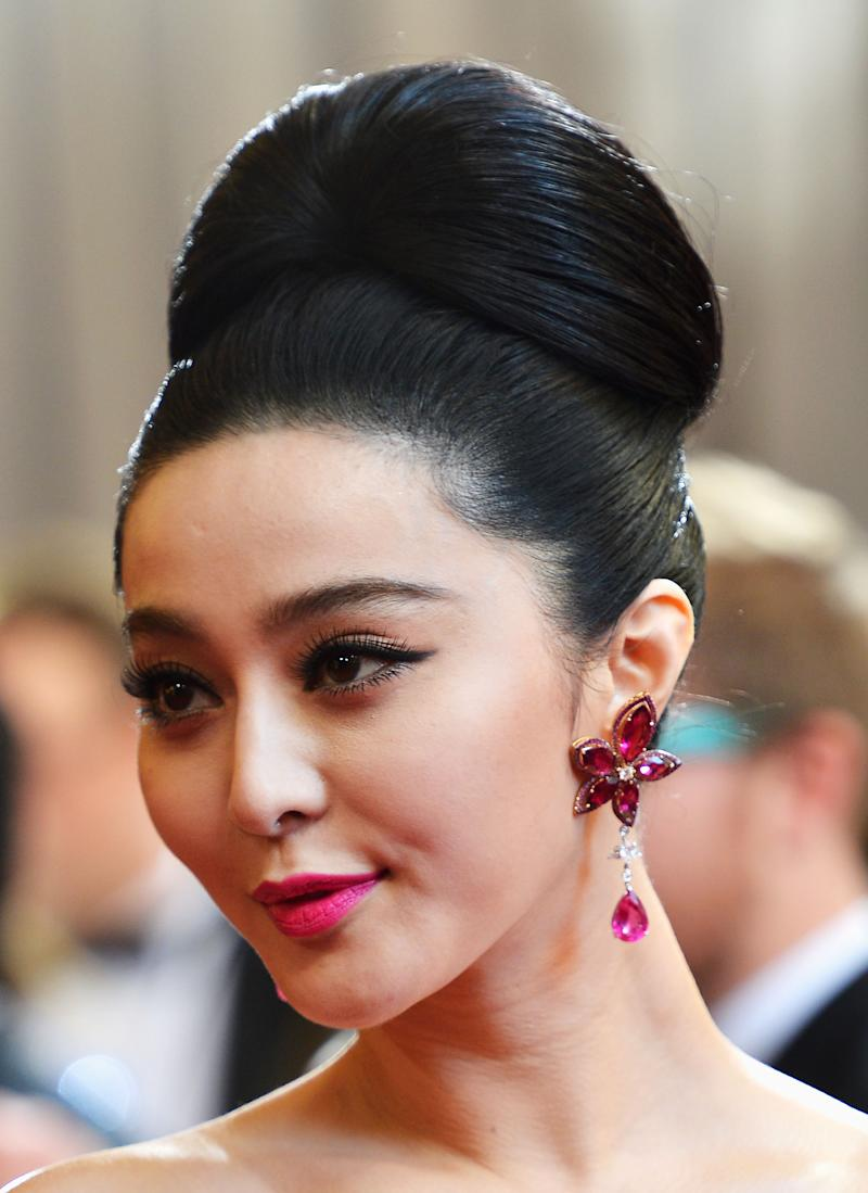 Fan BingBing Celebrity Hairstyles