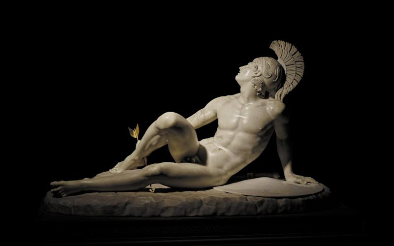 The exhibition will feature The Wounded Achilles on loan from Chatsworth House - British Museum