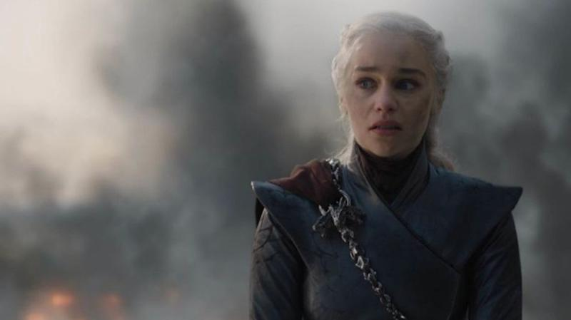Emilia Clarke portrayed Daenerys Targaryen's descent into madness on the latest episode of 'Game of Thrones'. (Credit: HBO)