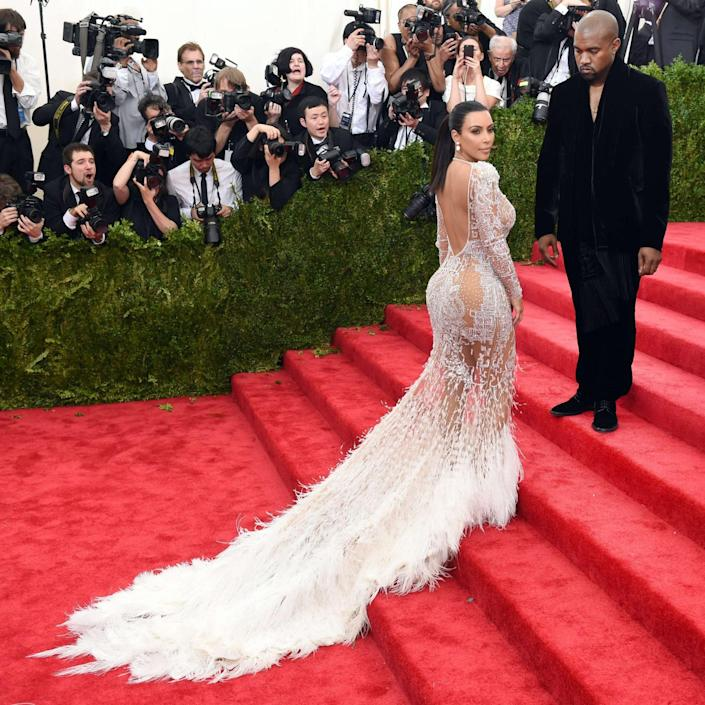 The couple at the Met Gala in 2015 - AFP/Timothy A Clary