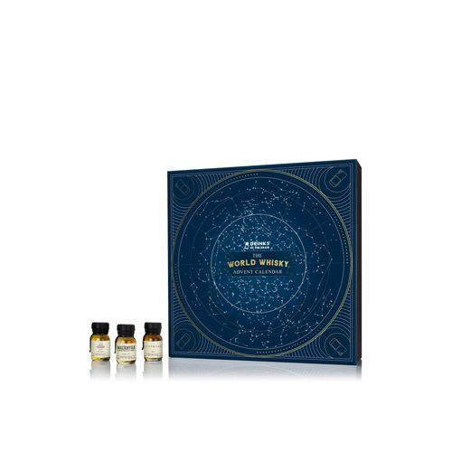 """<p>£149.95</p><p><a class=""""link rapid-noclick-resp"""" href=""""https://drinksbythedram.com/collections/christmas-calendars/products/the-world-whisky-advent-calendar"""" rel=""""nofollow noopener"""" target=""""_blank"""" data-ylk=""""slk:PRE-ORDER NOW"""">PRE-ORDER NOW</a></p><p>If you don't tend to think much beyond that bottle of Talisker you get every Christmas, this advent calendar from Drinks by the Dram will open your eyes to the wide world of whisky. Its 24 wax-sealed samplers span global distilleries, from Tullamore's standard-setting Irish blend to a Swedish single malt (yes, it's a thing) by Mackmyra.</p>"""