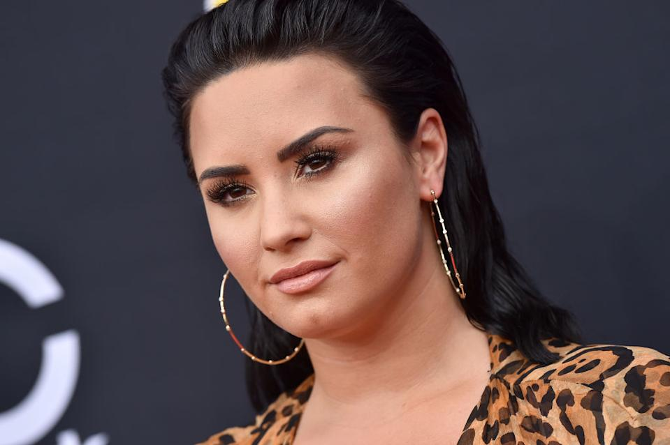 Demi Lovato has shared an unedited bikini selfie complete with cellulite and the Internet is loving it [Photo: Getty]