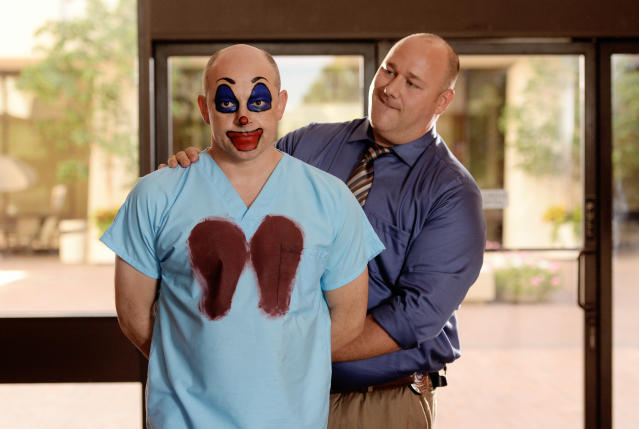 Corddry and Will Sasso on <em>Childrens Hospital.</em> (Photo: Darren Michaels/SMPSP)