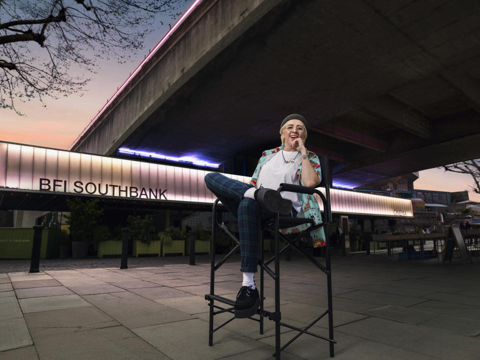 Writer-director Marley Morrison, from London, reckons the BFI Southbank is her 'happy place'
